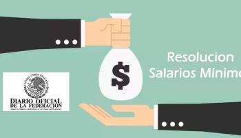 Sección Resolución Salarios Mínimos