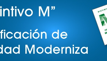 Sección Certificación de Calidad; Distintivo M