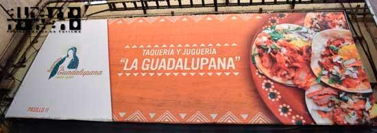 """Taquería y Juguería """"La Guadalupana"""" Central Abastos, CDMX"""