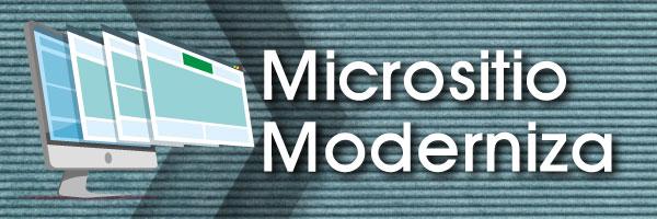 Micrositio Moderniza