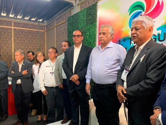 Toma de Protesta Colegio de Licenciados en Turismo Hotelería y Gastronomía, capítulo Hidalgo.