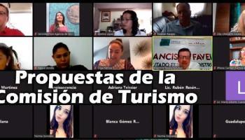 Propuestas de la Comisión de Turismo para recuperación económica