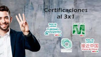 Certificaciones al 3x1