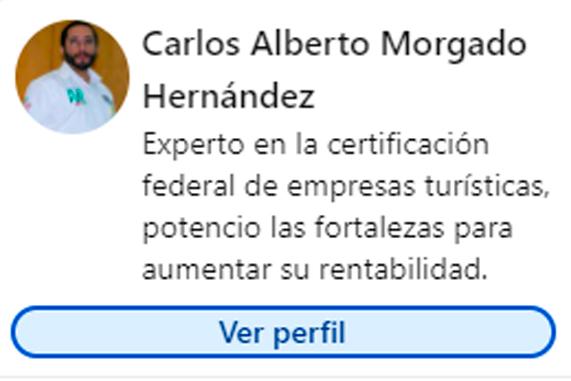 Perfil de Linkedin Carlos Alberto Morgado Hdez