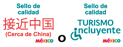 cerca de china o turismo incluyente
