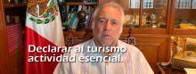 Declarar al turismo actividad esencial en México